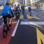 Einreihen für den Zürichstrassesprint
